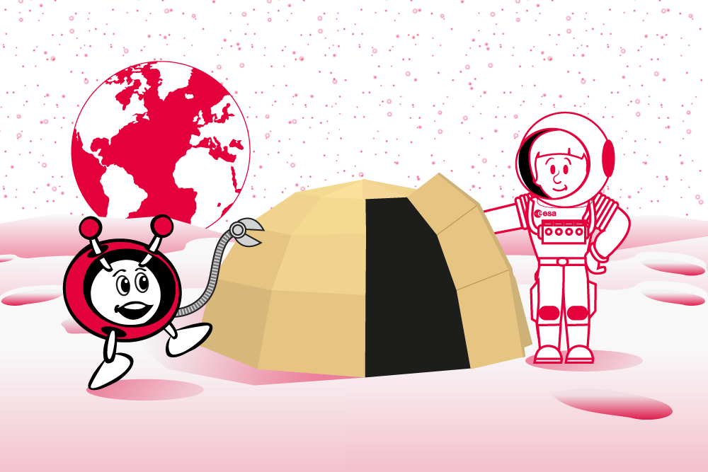 PR37 Moon Shelter – Investigating different shelters on Earth and in space