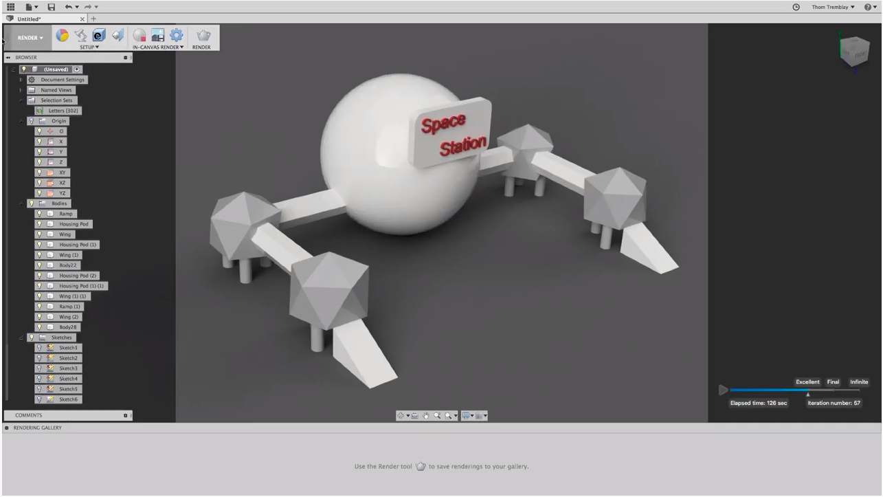 Part 4: Rendering, Minecraft and 3D Printing